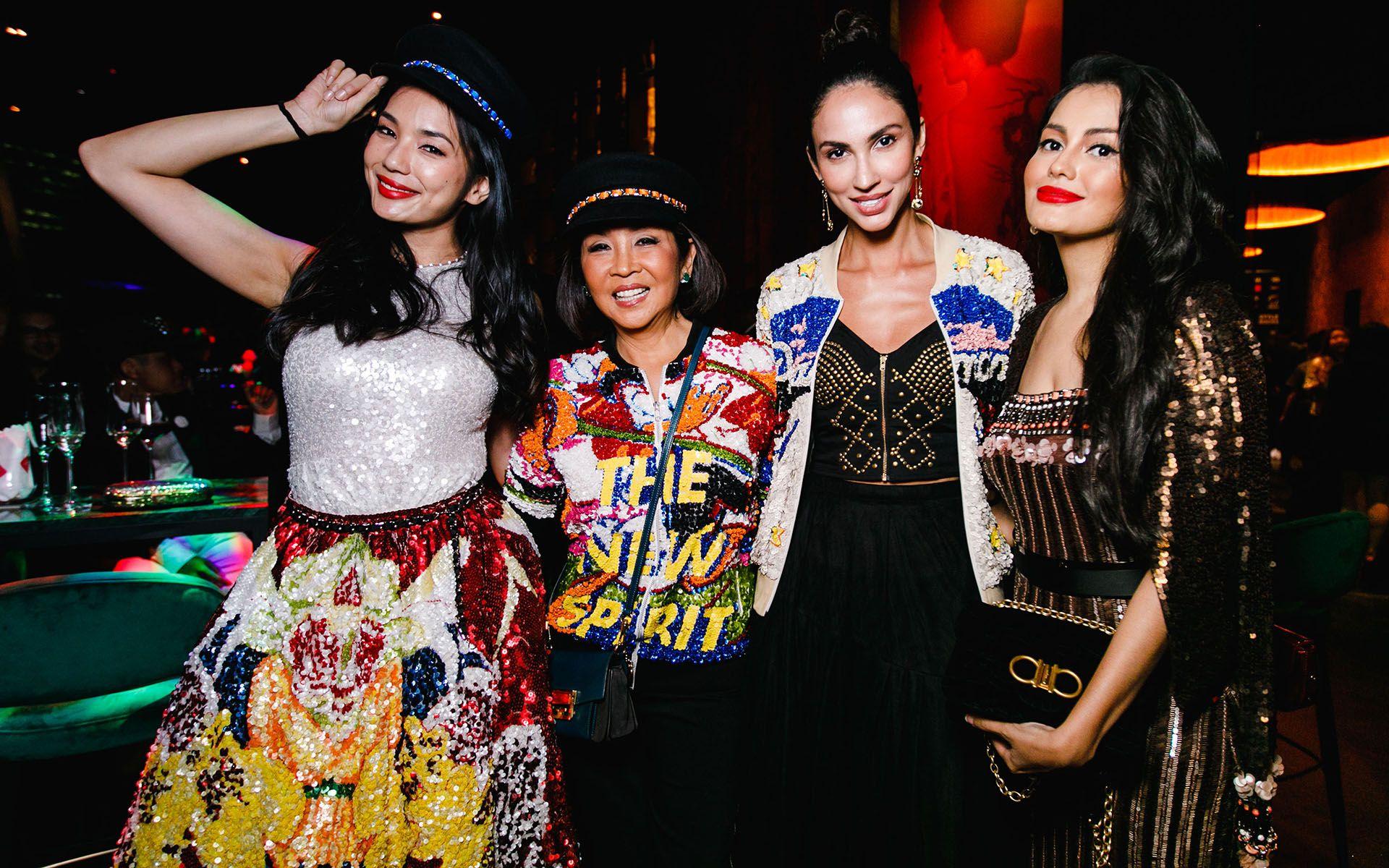 Andrea Fonseka, Dato' Seri Farah Khan, Deborah Henry and Fyza Kadir