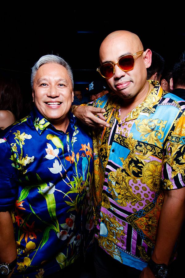 Chef Wan and Joe Flizzow