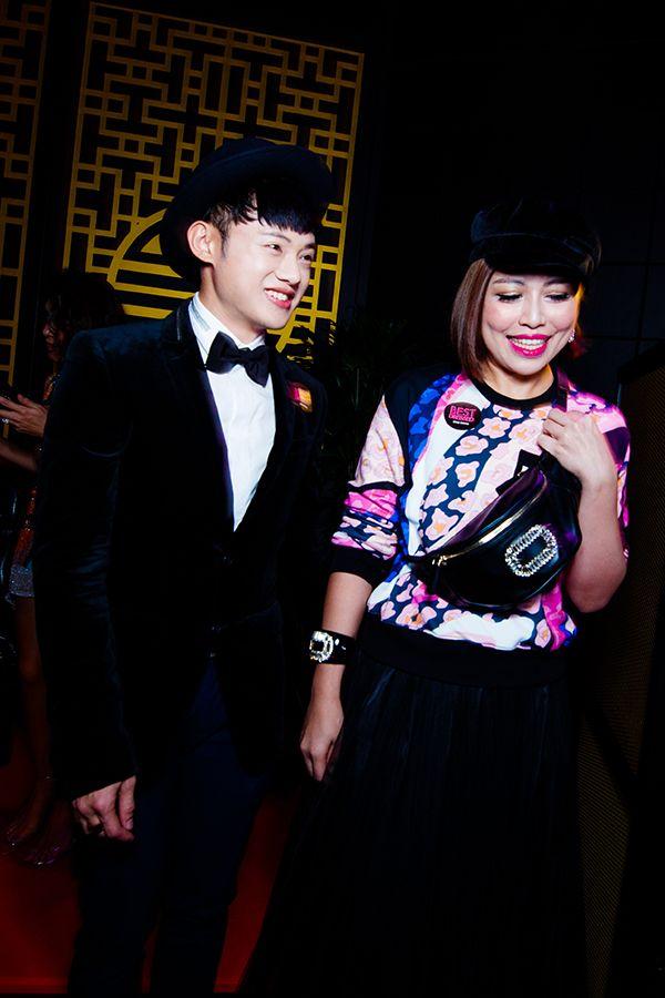 Dr Steven Lai and Azureen Winny Hao
