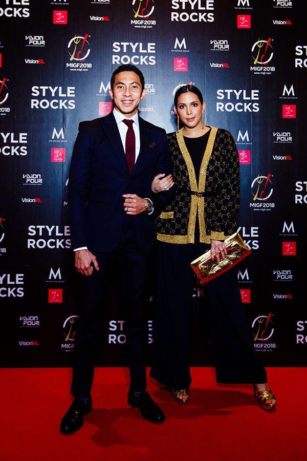 Khairul Fahmy and Puteri Afzan Shakira