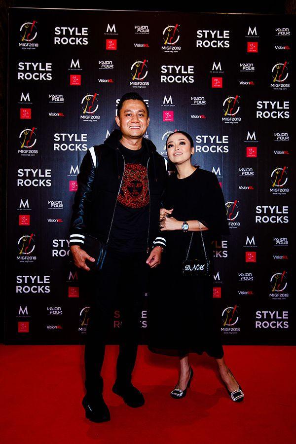 Shahriman Tan Sri Abdullah and Datin Nadia Marni