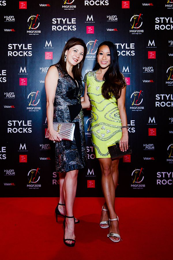 Che Puan Datin Winnie Low and Rebekah Yeoh