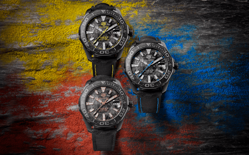 Aquaracer Carbon (Photo: TAG Heuer)