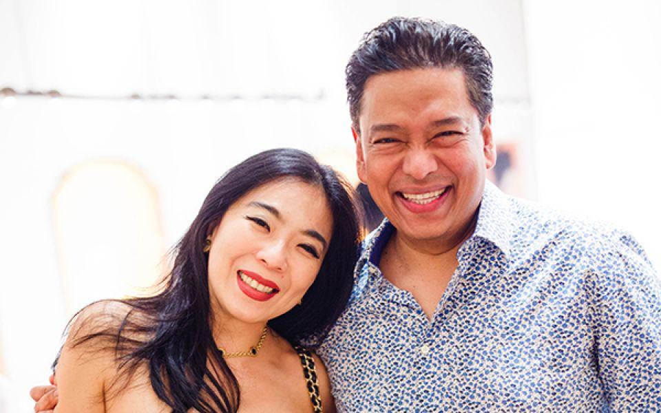Lim Wei-Ling and Yohan Rajan