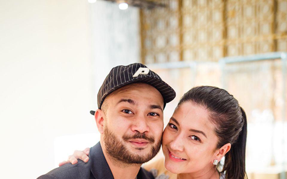 Affendy Ali and Nicole Sia