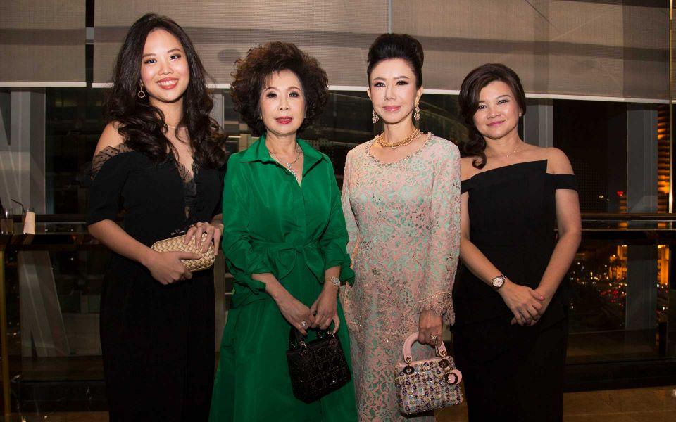 Yap Po Leen, Datin Sri Barbara Yap, Dato' Jaime Chan Abdullah and Eriin Teh
