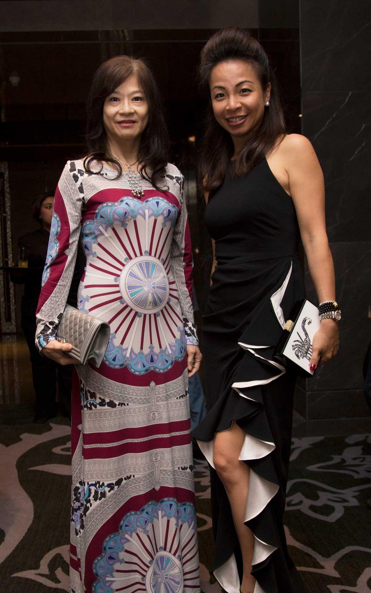 Faridah Teh and Elizabeth Marini