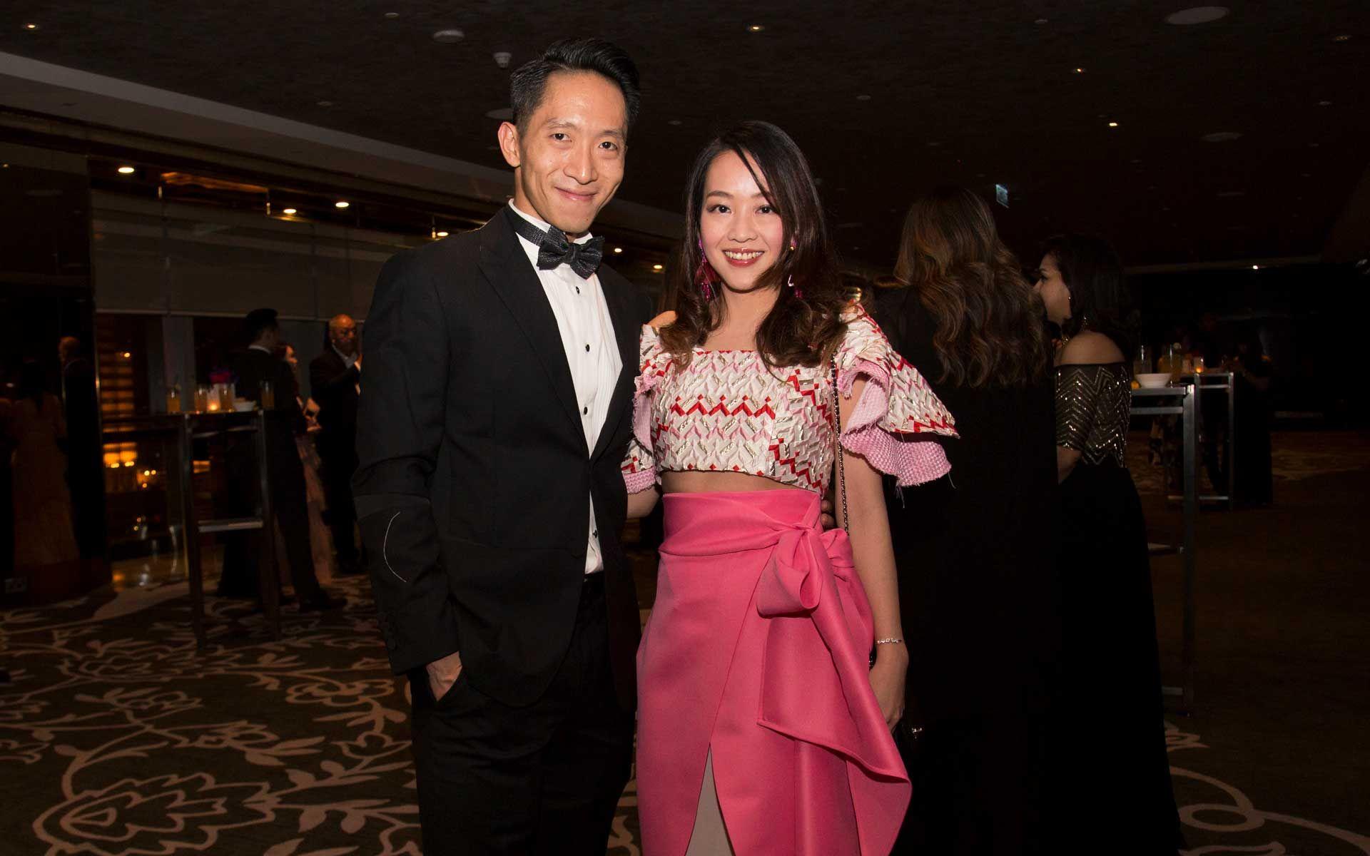 Yap Weng Yau and Evonne Khoo