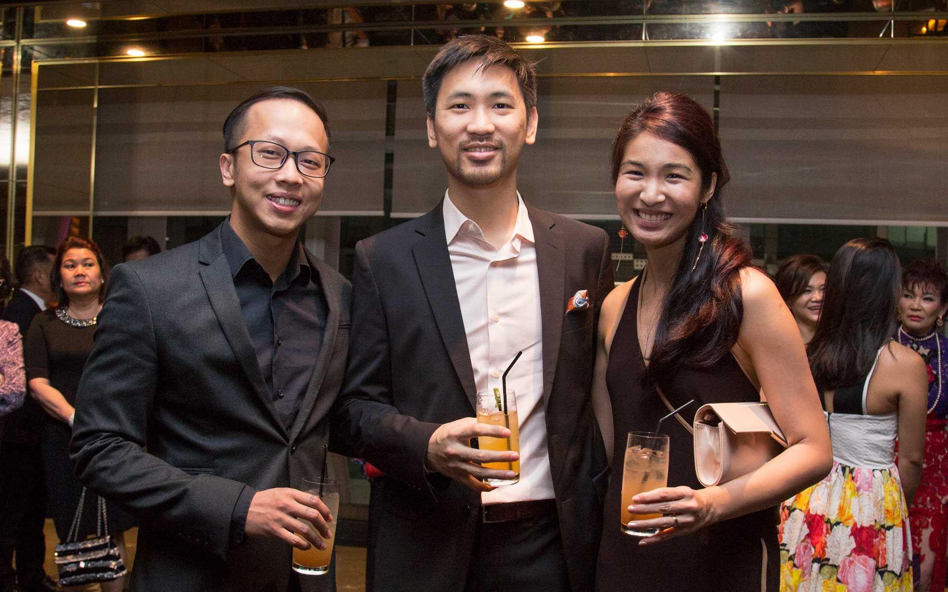 Jin Wong, Daryl Foong and Melissa Lam