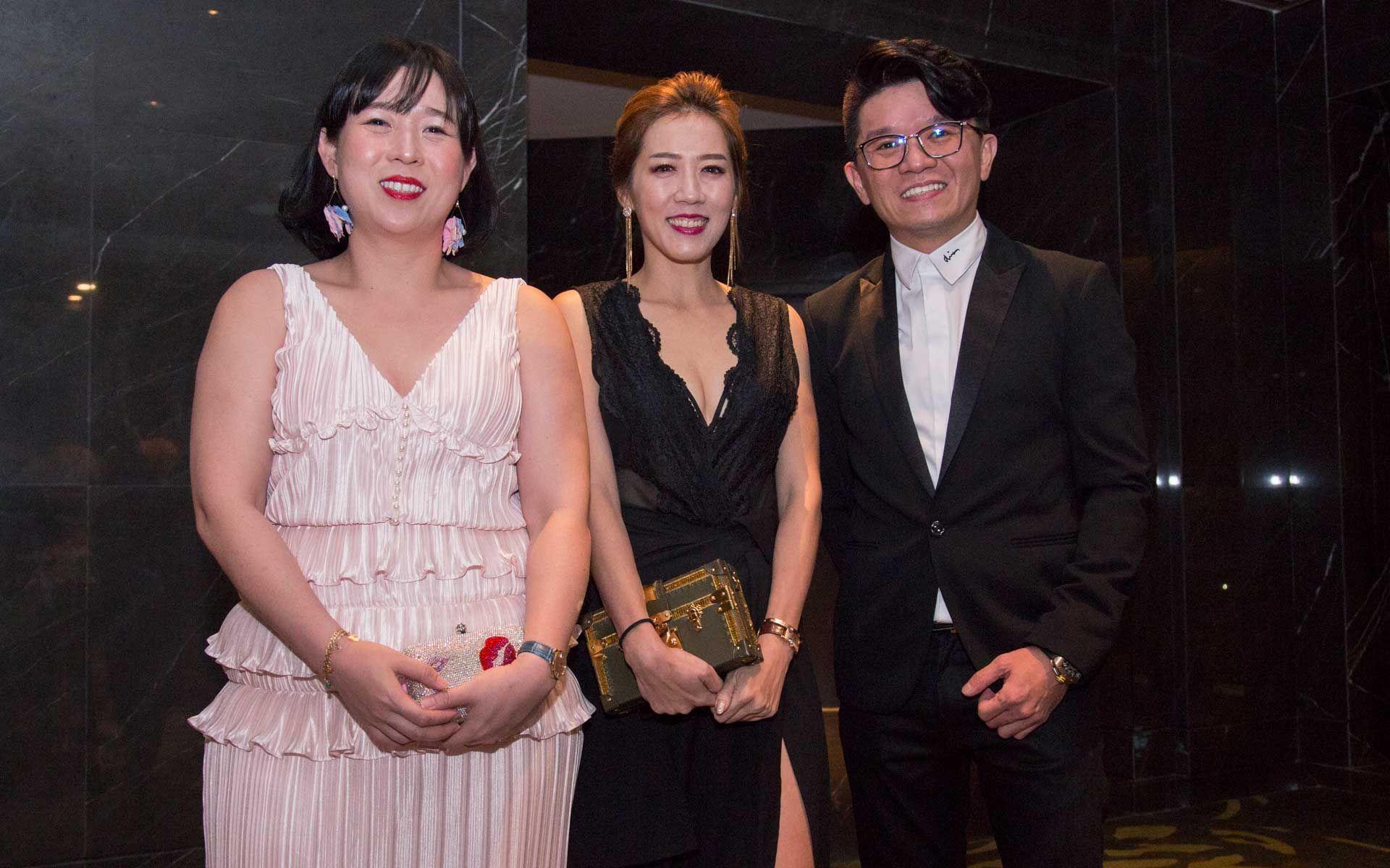 Cheng Cheng Tan, Magdalene H'ng and Danis Lee