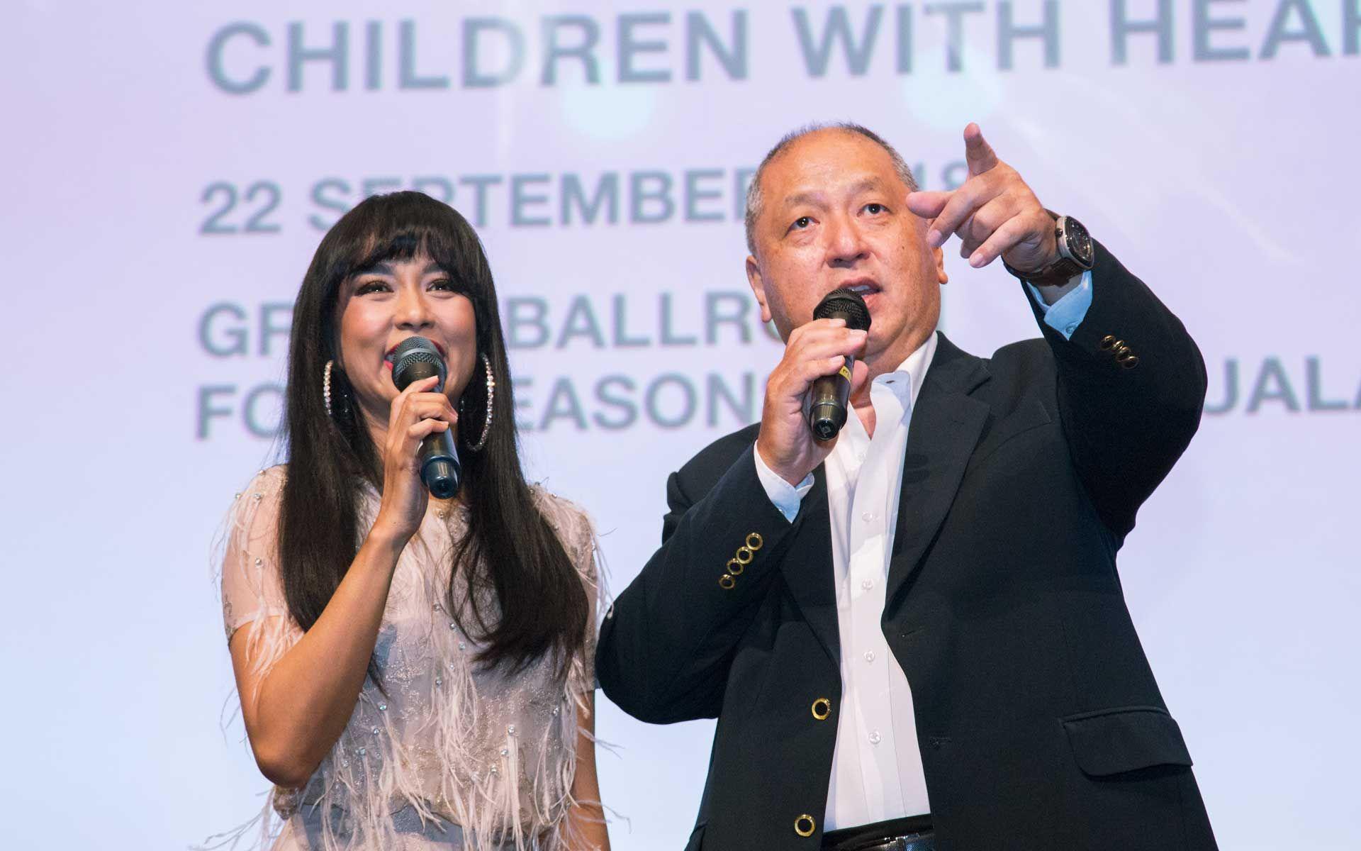 Syafinaz Selamat and Dato' Kevin Yong