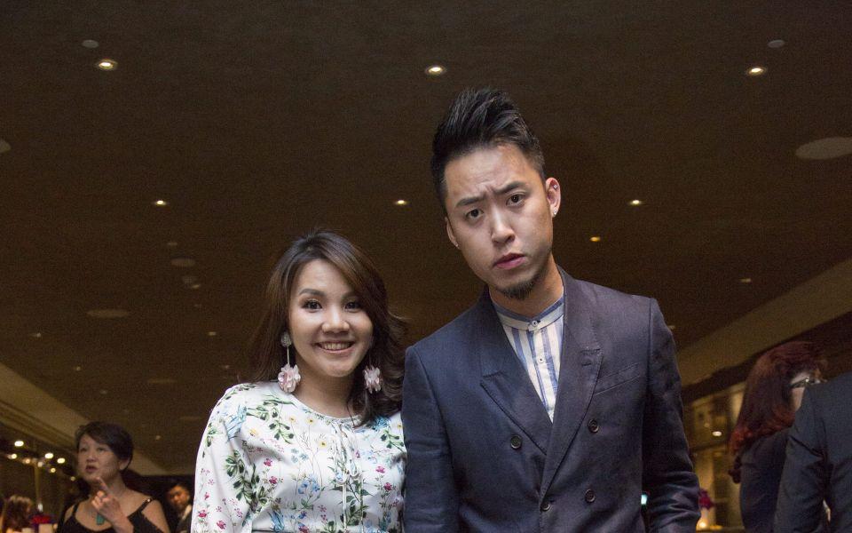 Sally Quah and Bryan Loo