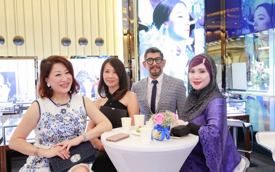 Adeline Khoo, Sally Seow, Joel Santiago and Puspayanti Asraf
