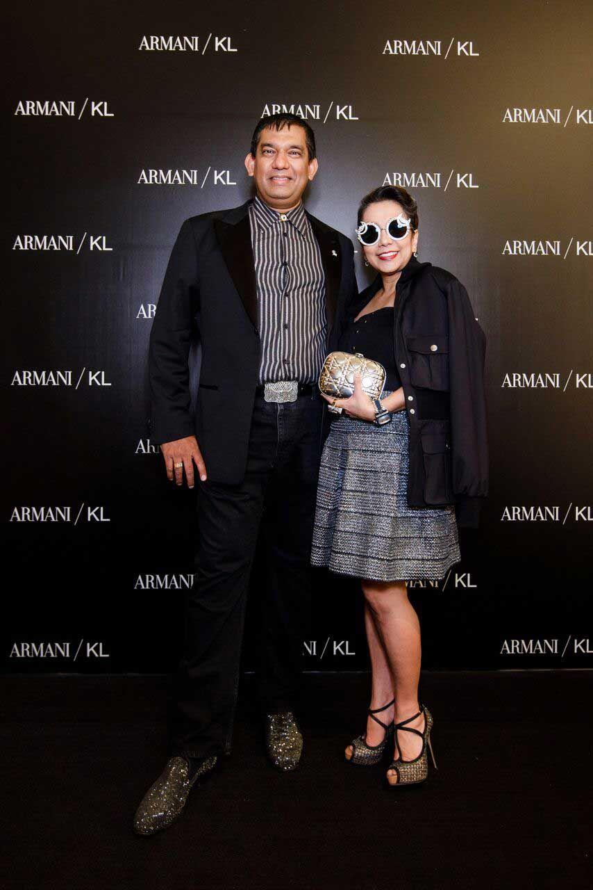 Dato Sri Andrew Abishegam and Datin Sri Chris Abishegam