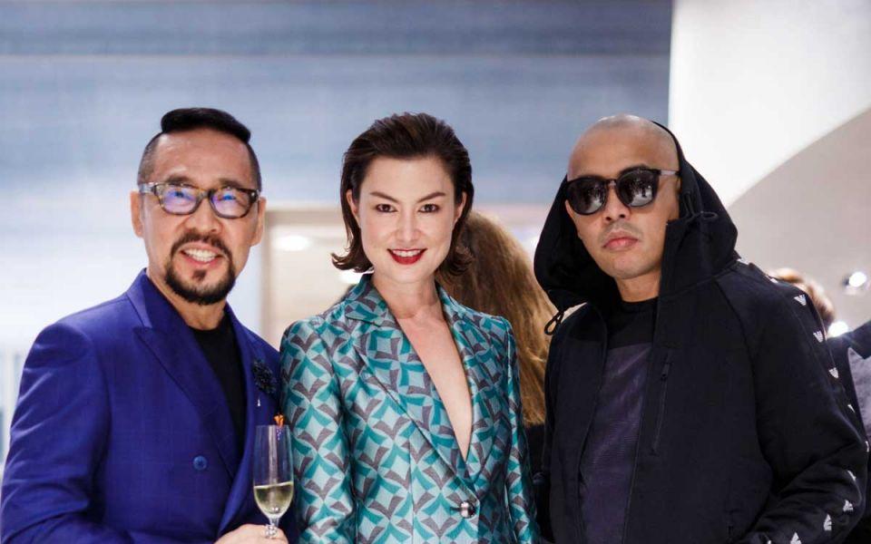 Datuk Kelvin Tan, Danielle Graham and Joe Flizzow