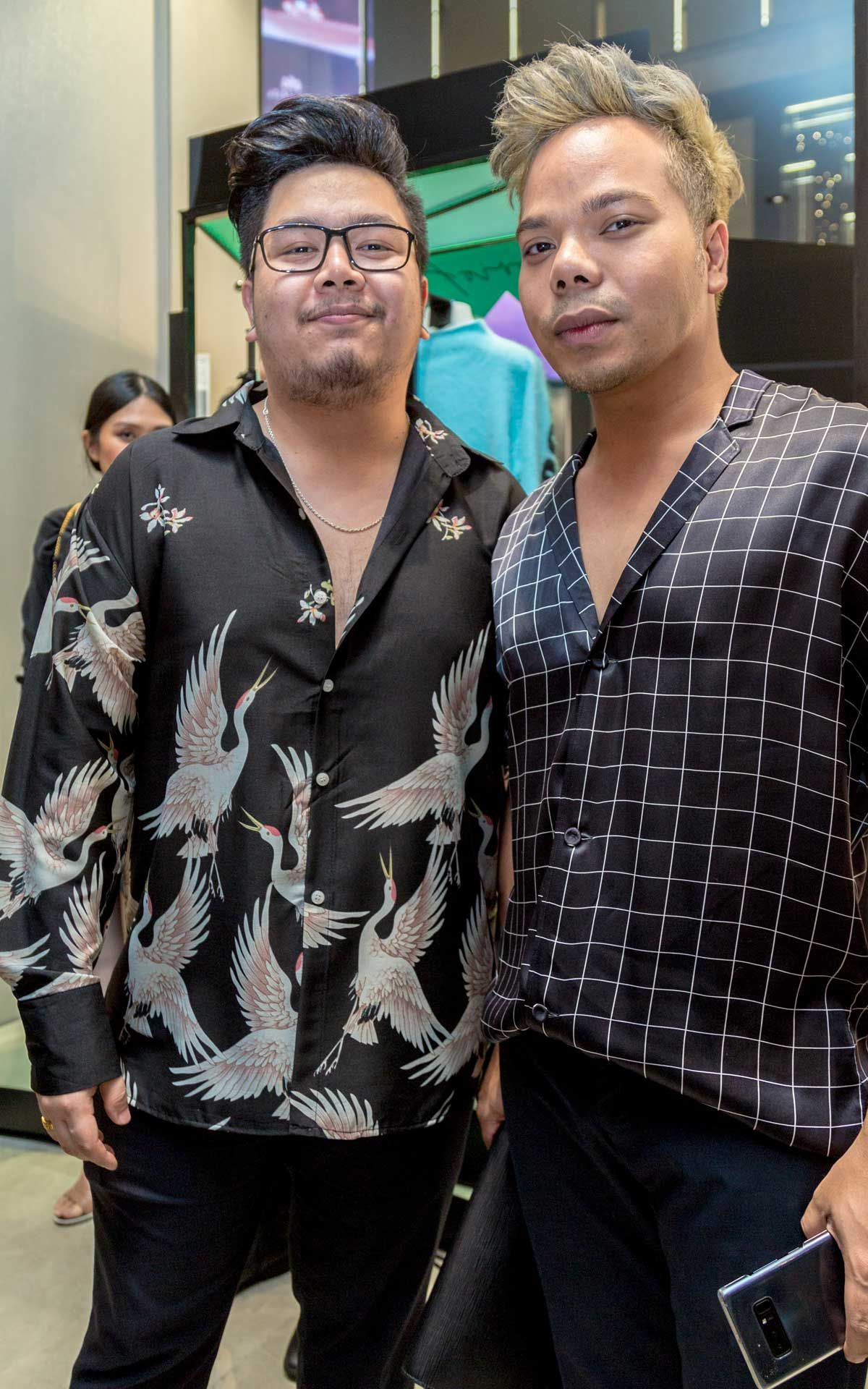 Mohd Hafizi Radzi Woo and Izree Kai Haffiz