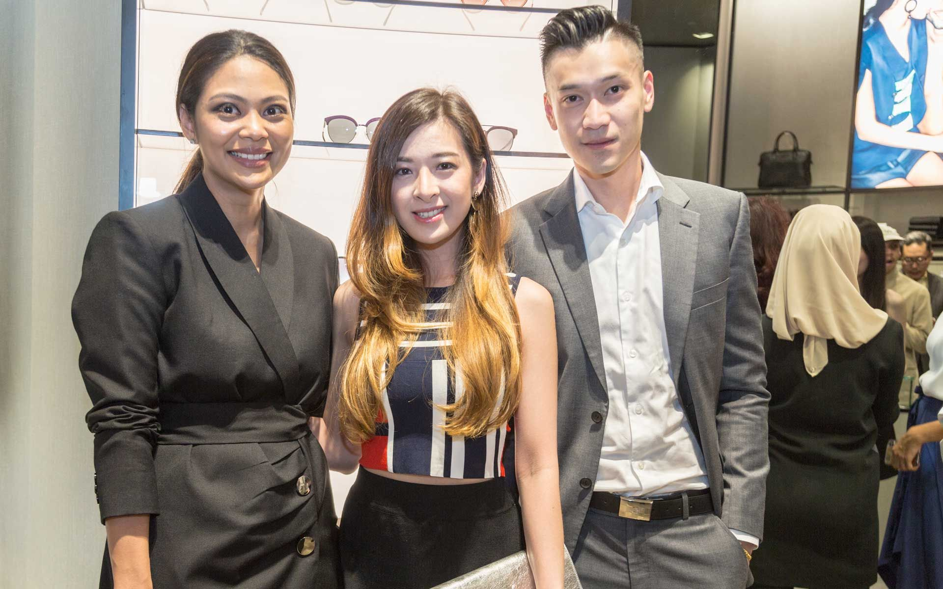 Zaireen Ibrahim, Elizabeth Thea and Jannio Shun