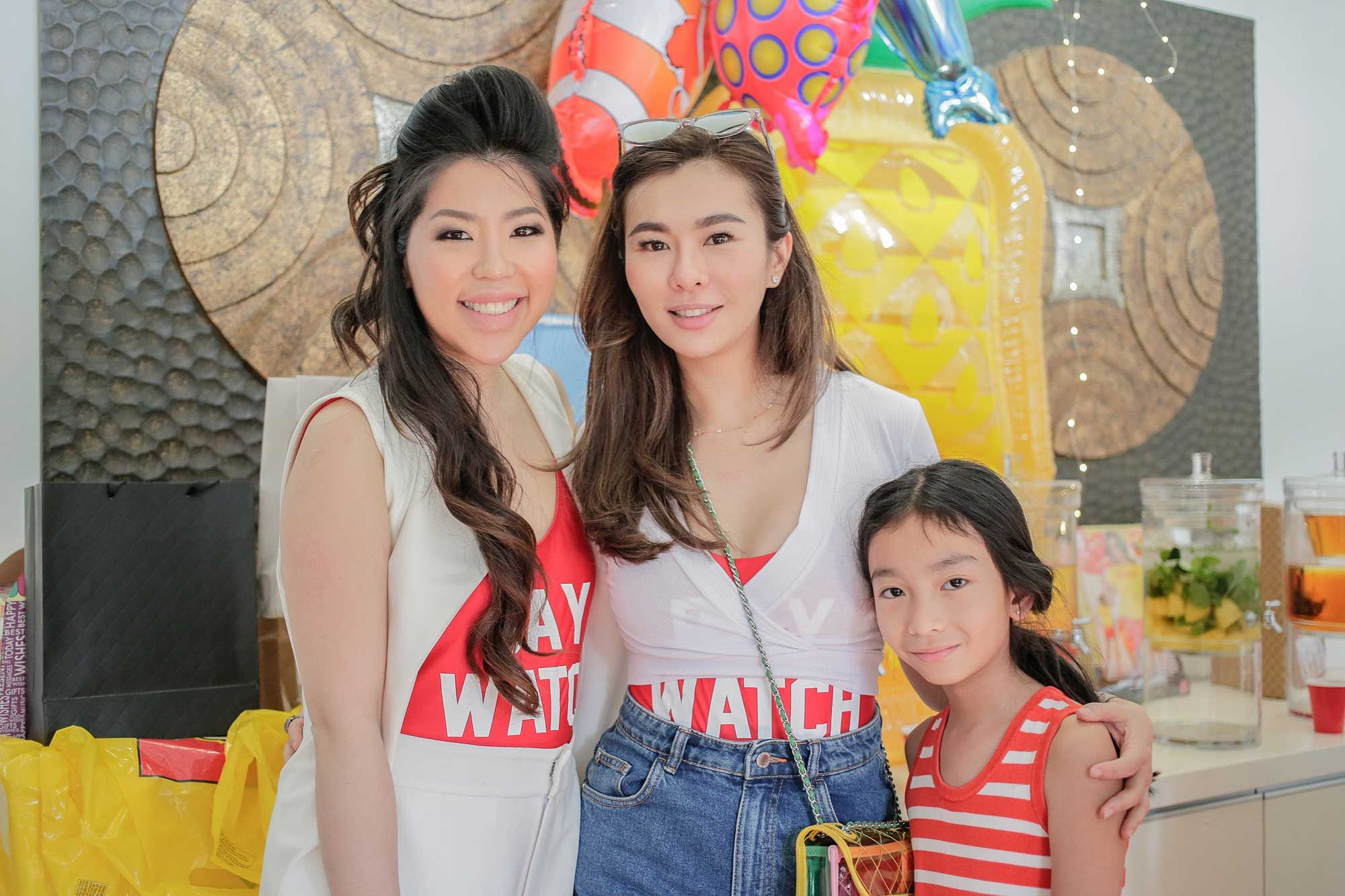 Elizabeth Lee-Yong, Datin Dian Lee and Jora Dream Lim
