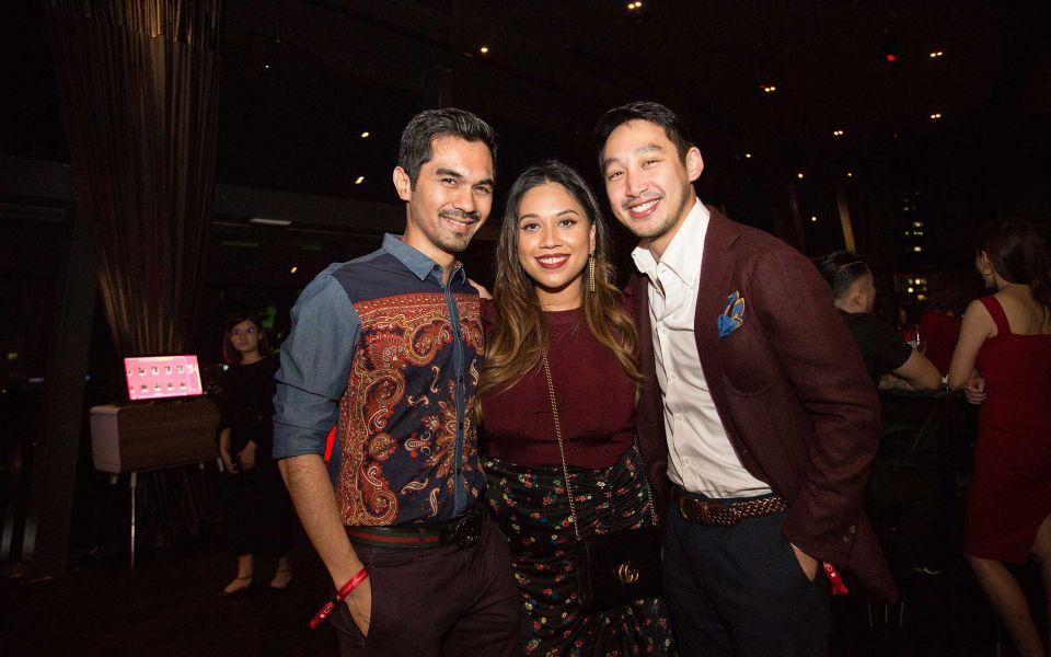 Yassif Nasir, Didie Nasir and Donovan Ng