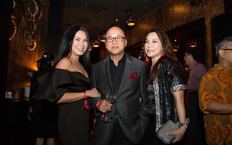 Angela Karto, Dato' KK Loh and Datin Patsy Loh