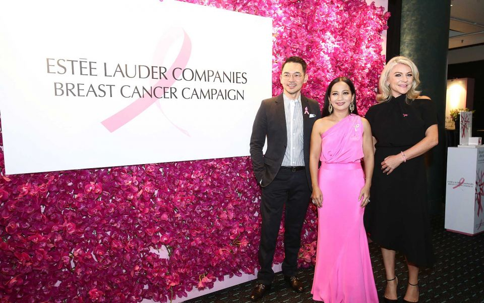 Desmond Teh, Dato' Sheila Majid and Cheryl Joannides
