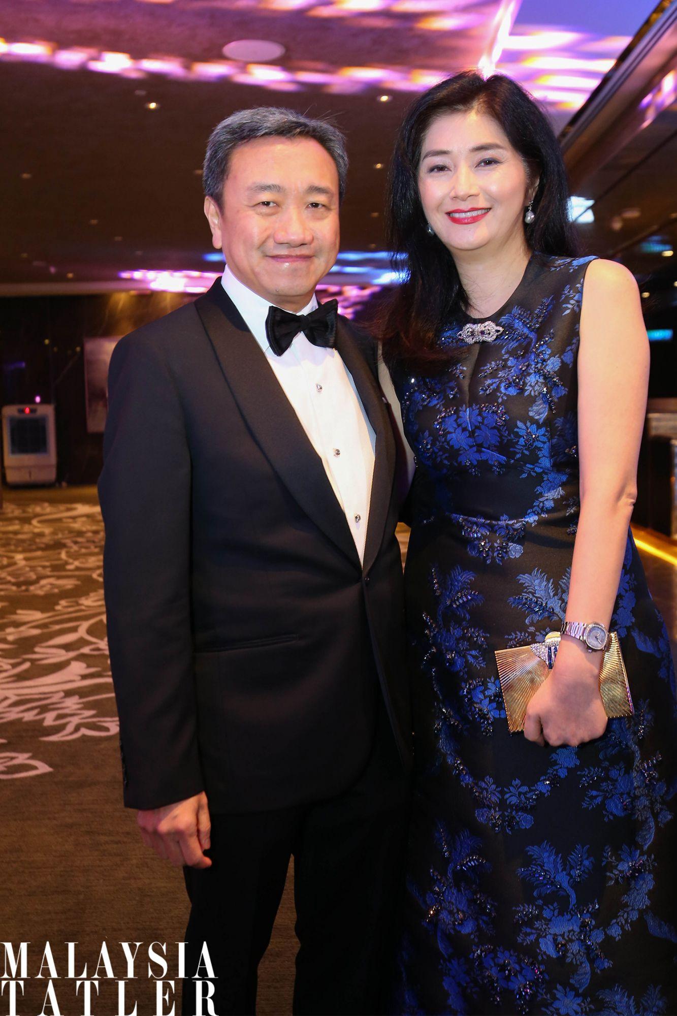 Datuk Alfred Cheng and Datin Rita Cheng