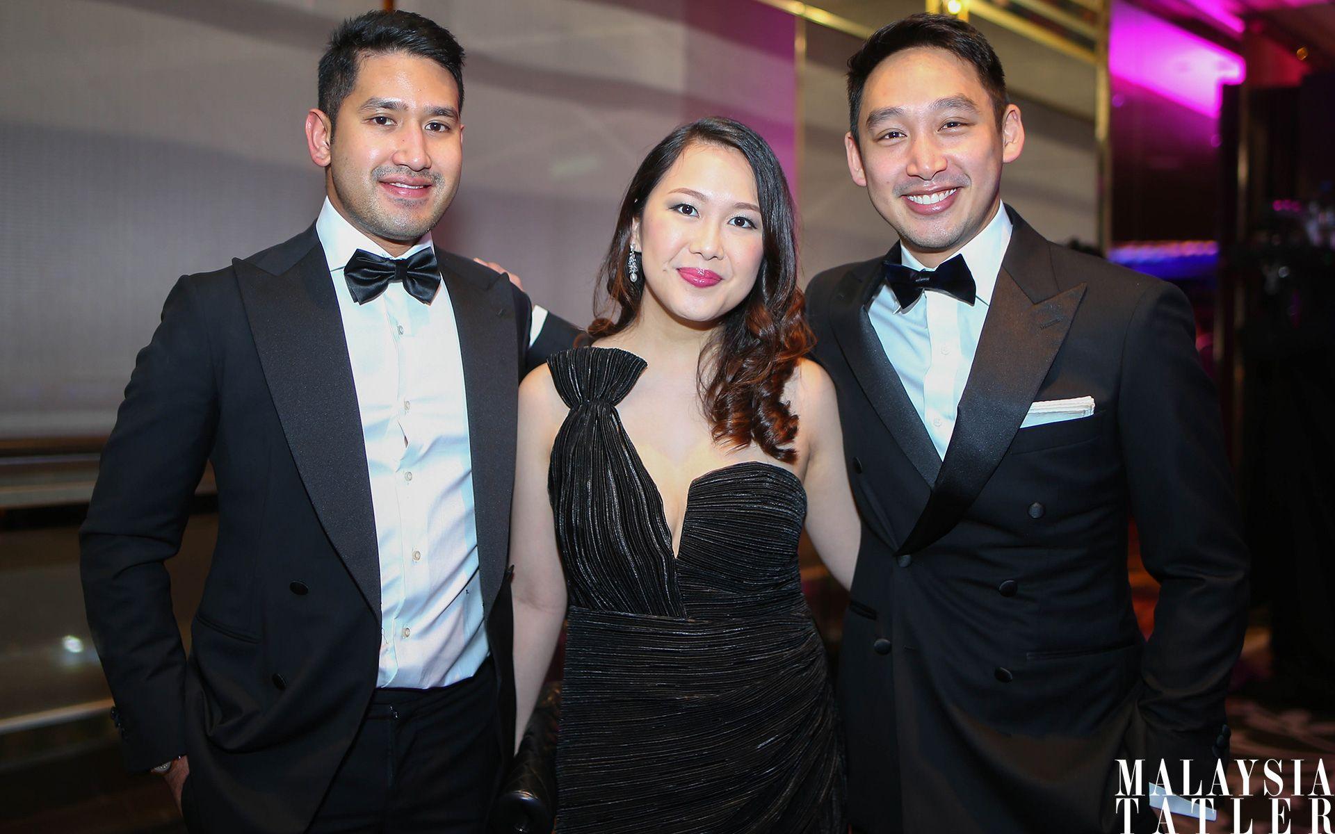 Devan Linus Rajadurai, Claire Ng and Donovan Ng