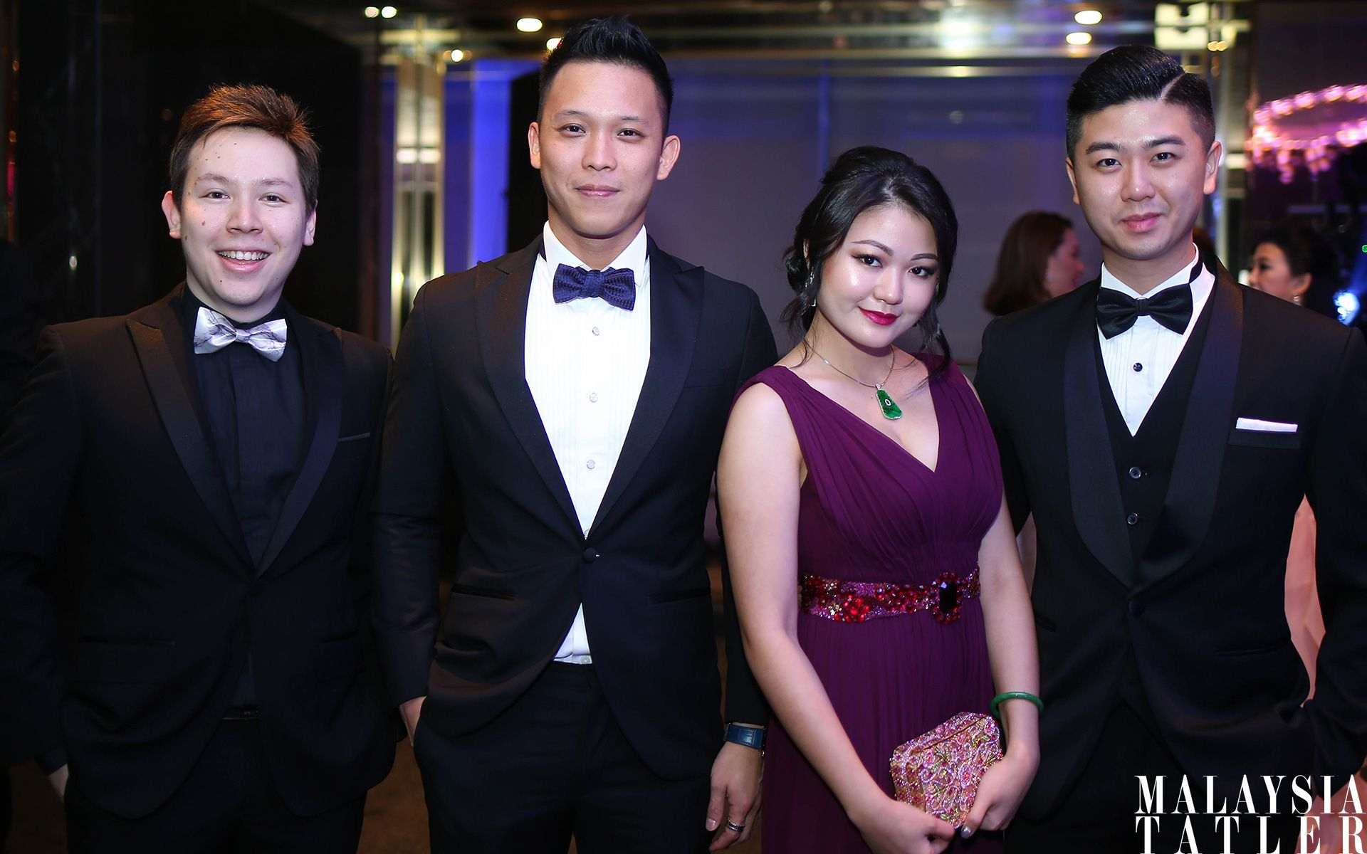 Andre Lim, Justin Chew, Denise Chiew and William Sin