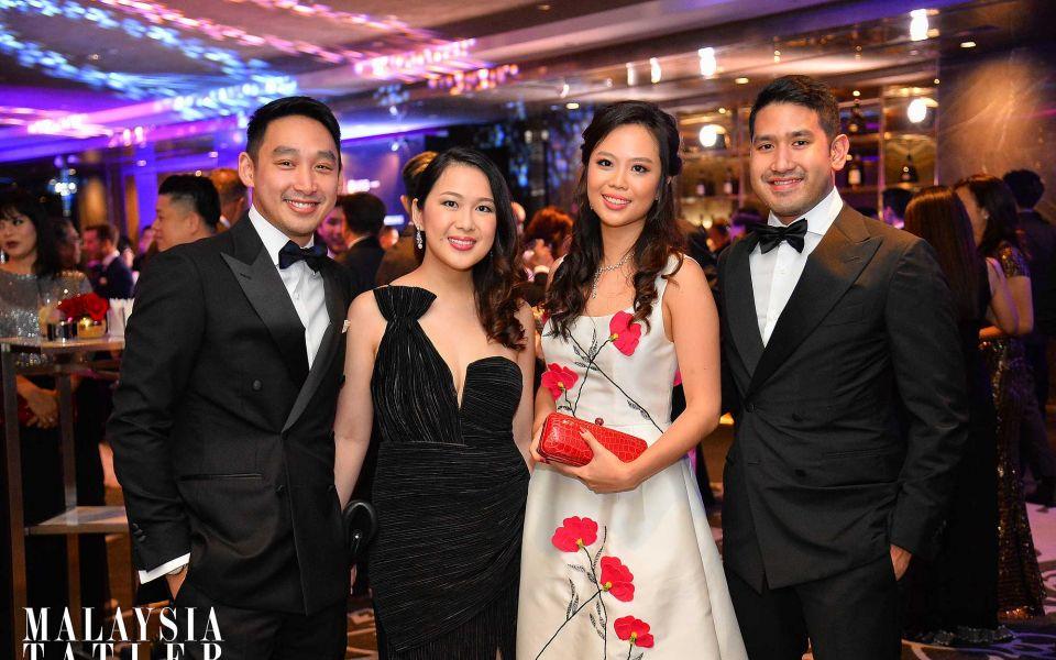 Donovan Ng, Claire Ng, Yap Po Leen and Devan Linus Rajadurai