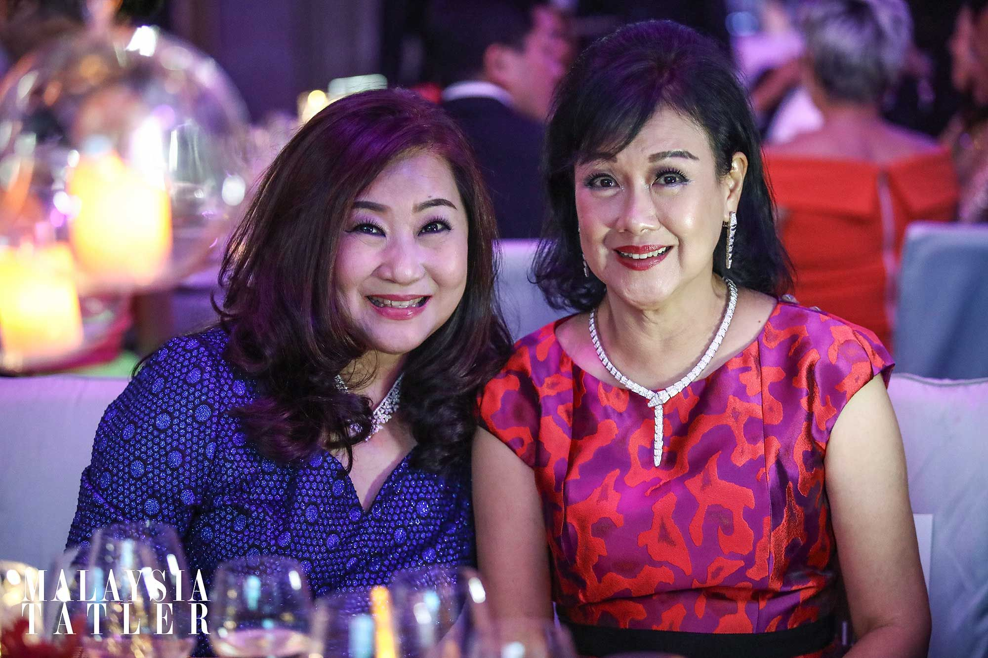 Sharon Yap and Puan Sri Ivy Tan