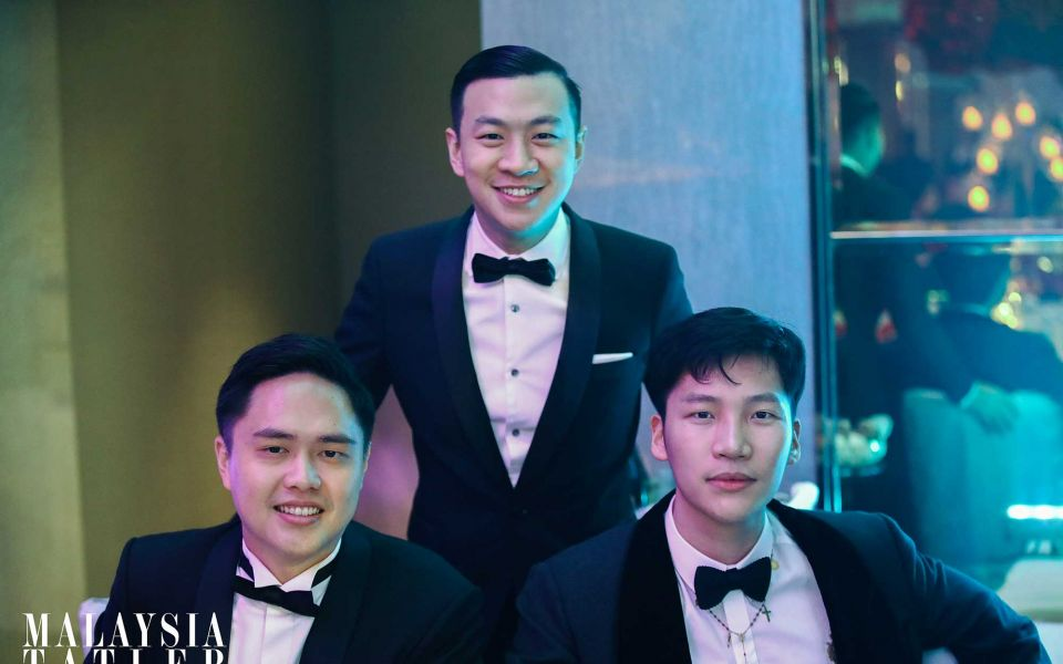 Brian Choo, James Yam and Koh Li Tim