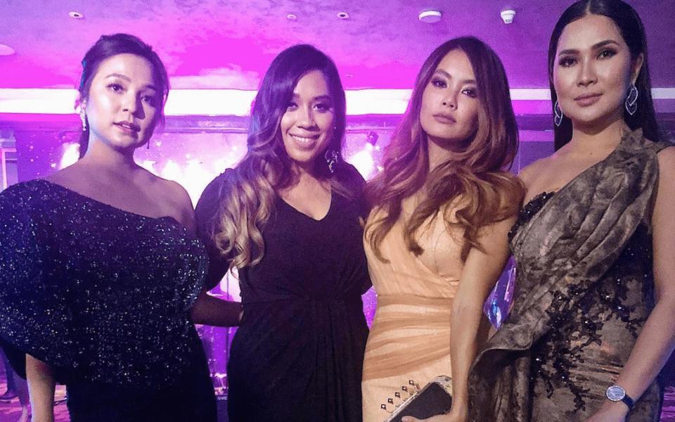 Datin Nina Ismail Sabri, Didie Nasir, Ung Yiu Lin and Angela Karto (Photo:  @didiedynda)