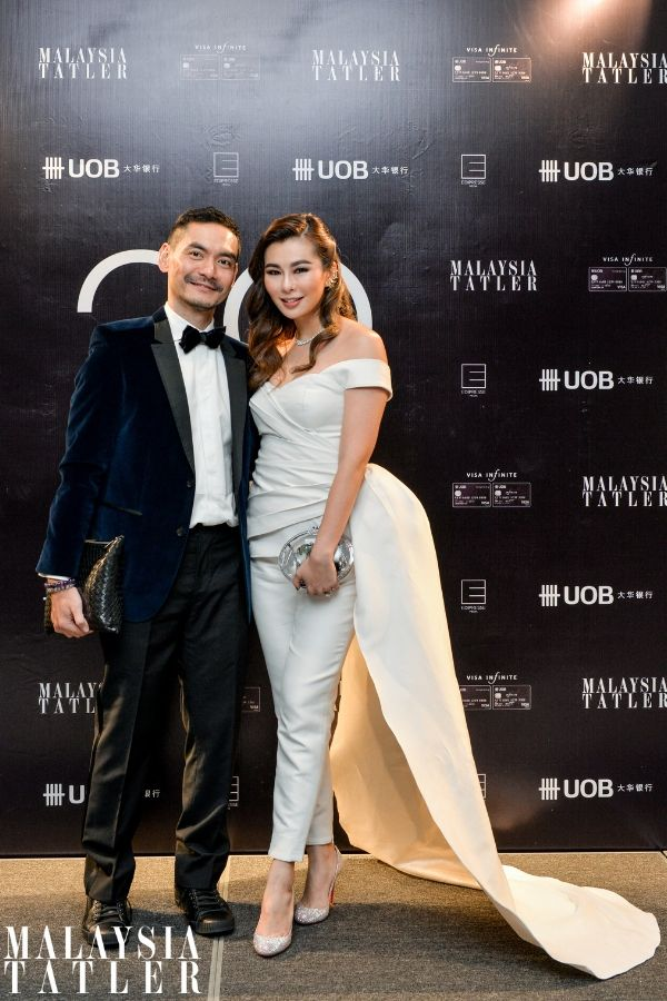 Jared Lim and Datin Dian Lee in Innai Red