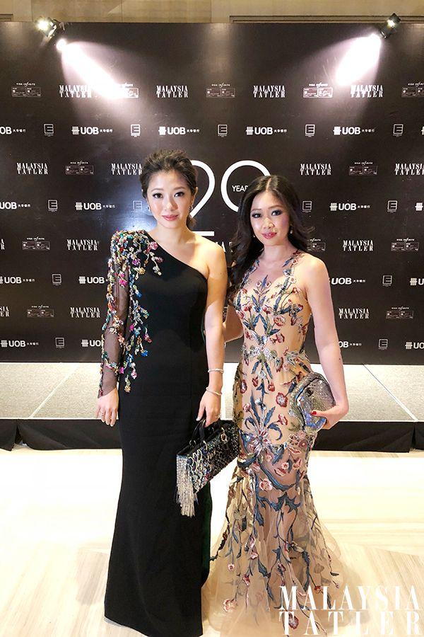 Lim May Jian and Lim May Shen, both in Michael Ong