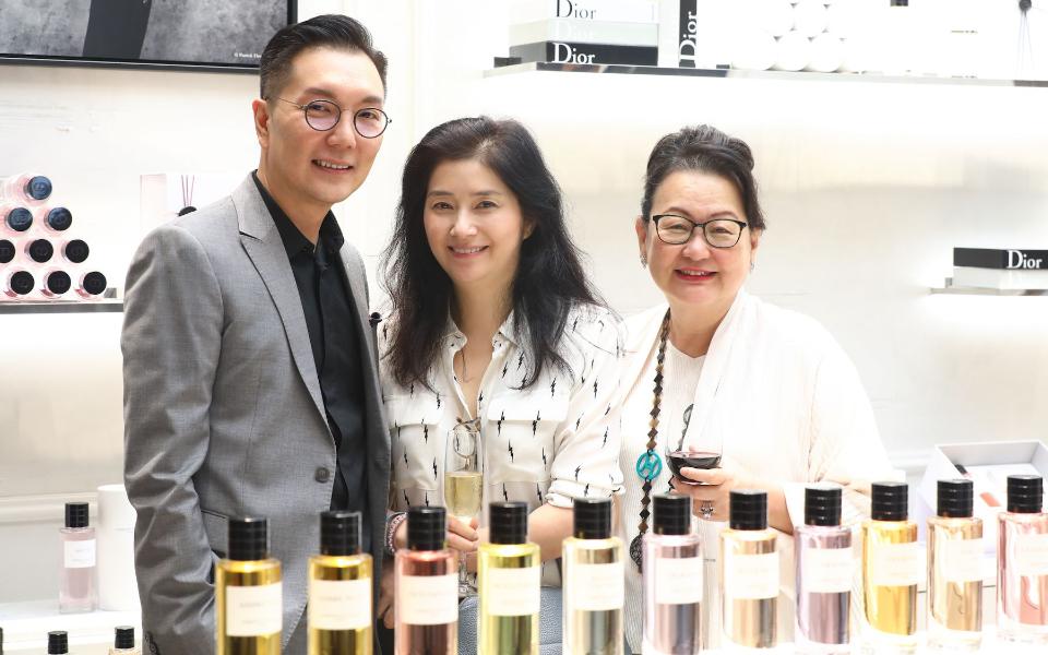 Jamie Ong, Rita Shum and Dato' Joyce Yap