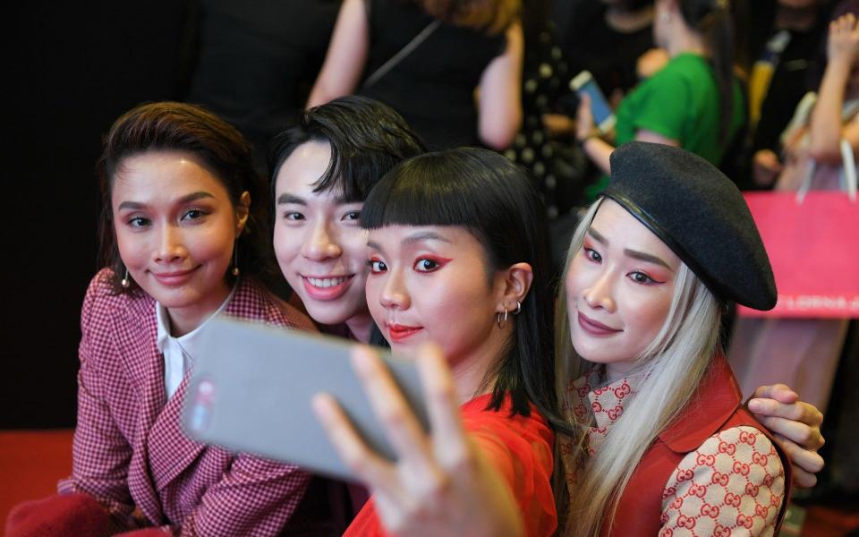 Scha Alyahya, Shiyo Joo, Kittie Yiyi and Cherrie Mun
