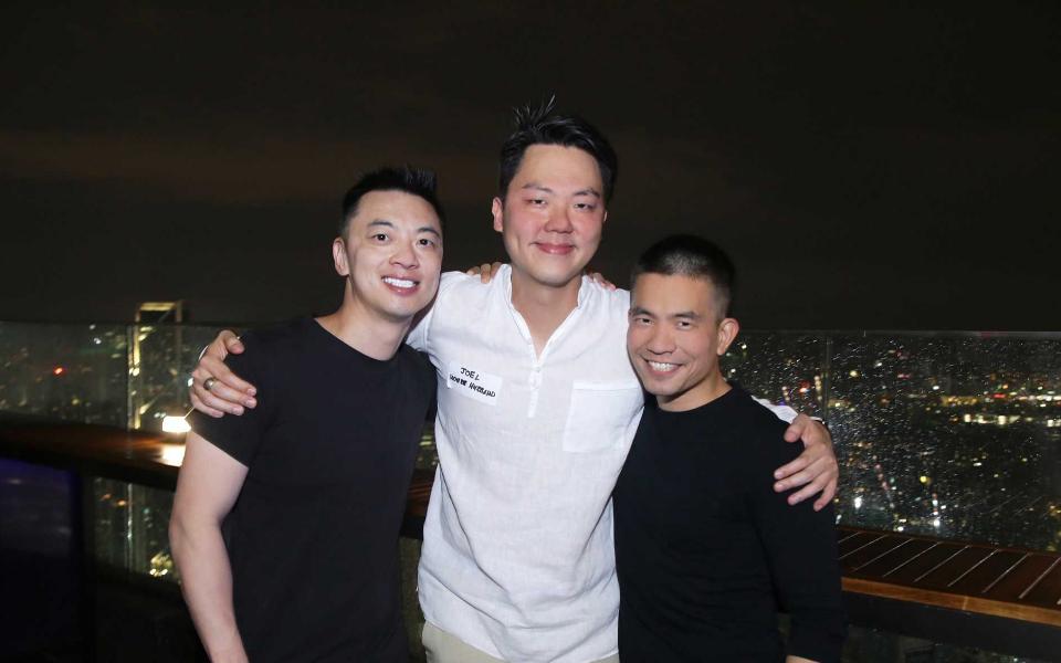 Danny Yeung, Joel Neoh and Khailee Ng