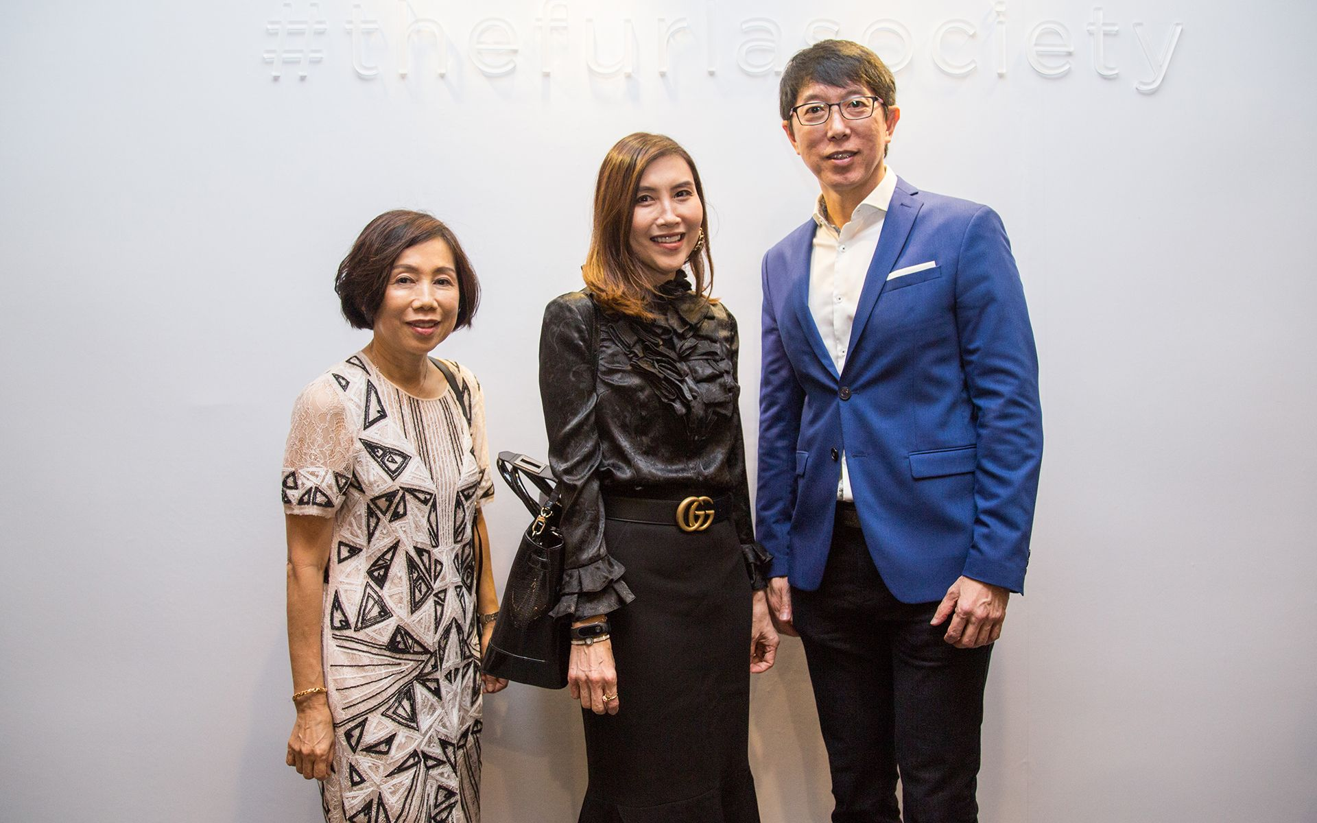 Lee Cheng Toh, Kathleen Chong and Ang Kee Ping