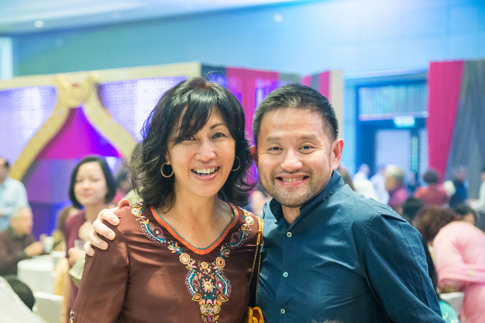 Datin Mina-Cheah Foong and Dr George Lee