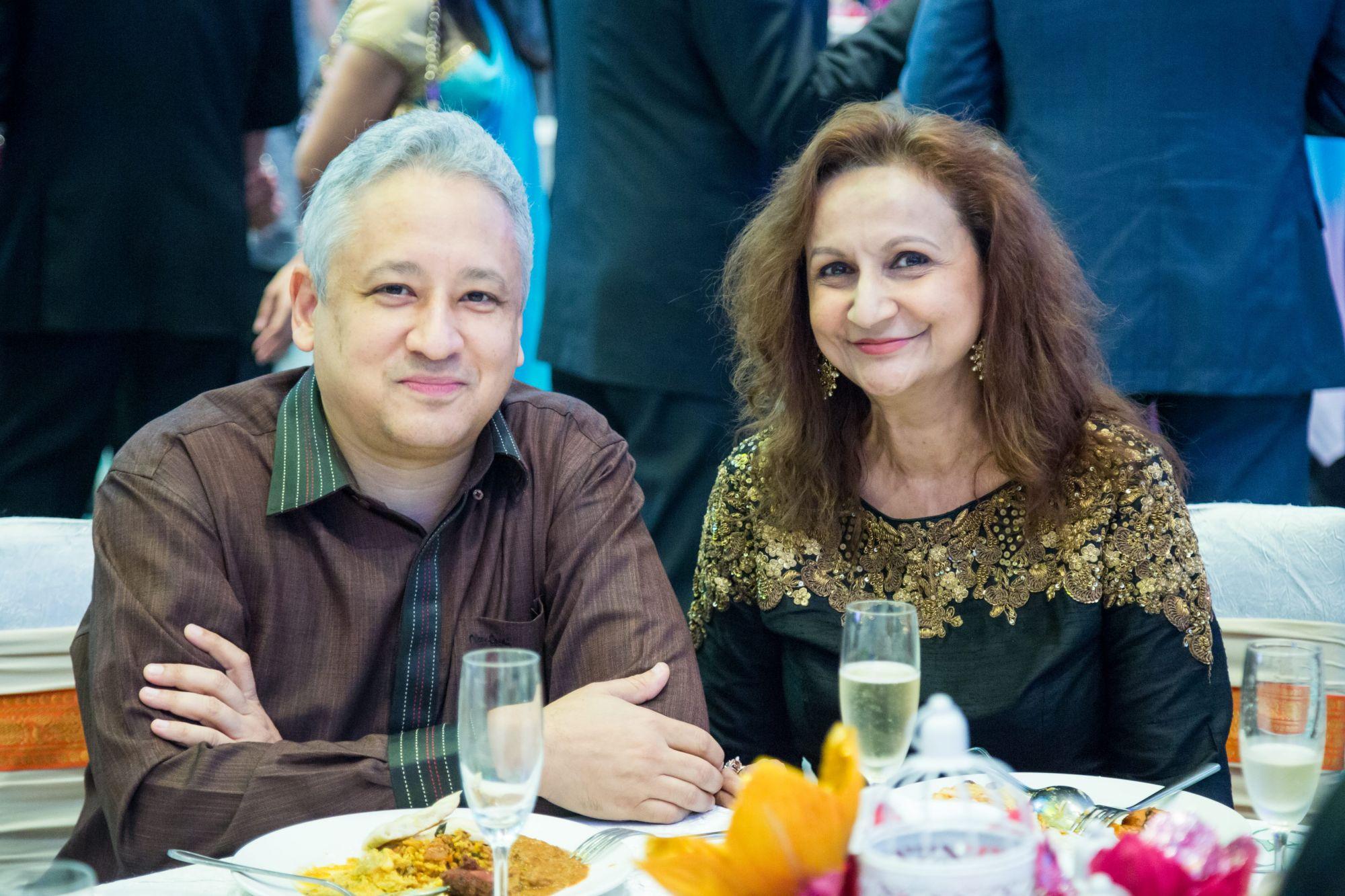 Dato' Dr Devan Pillay and Datin Dr Kalpna Maghji