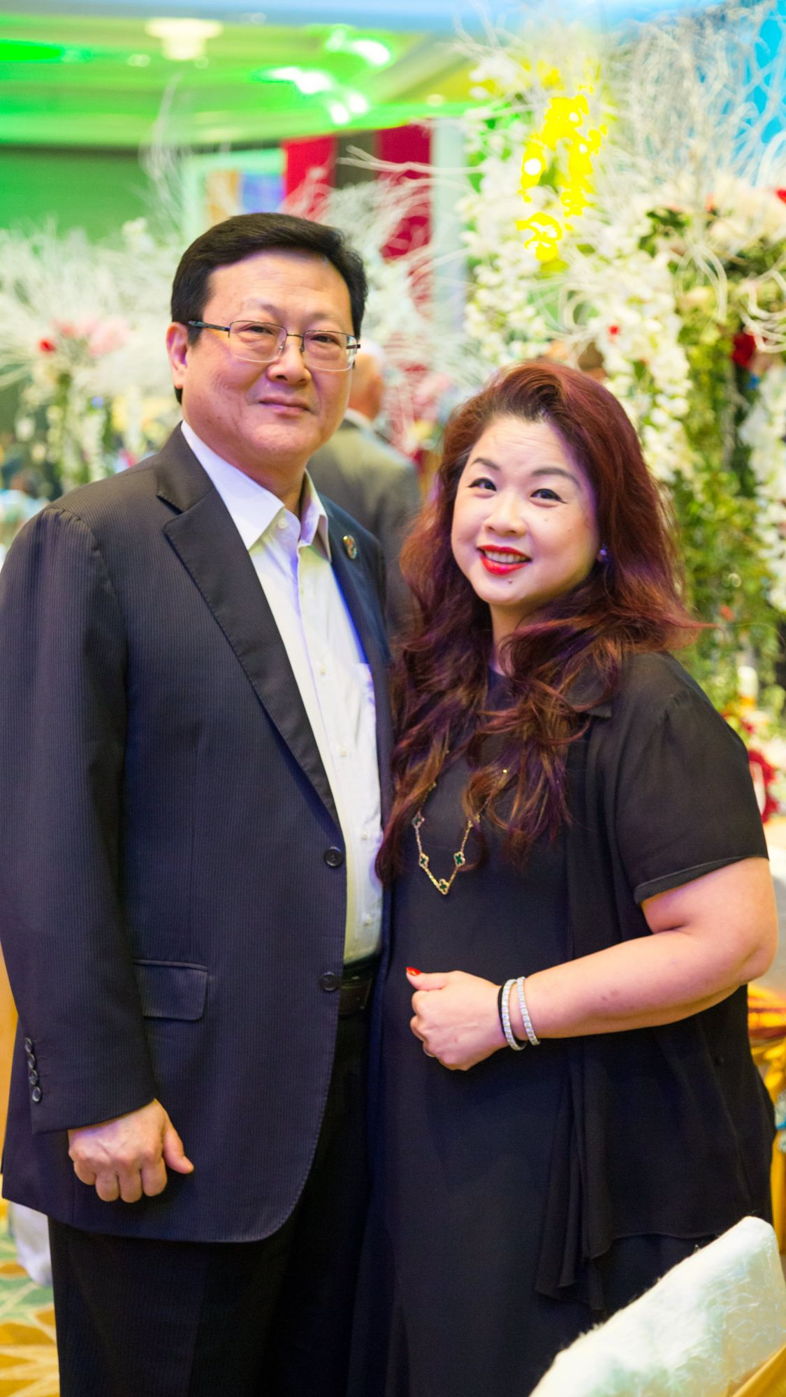 Tan Sri Tan Kean Soon and Puan Sri Shirley Law