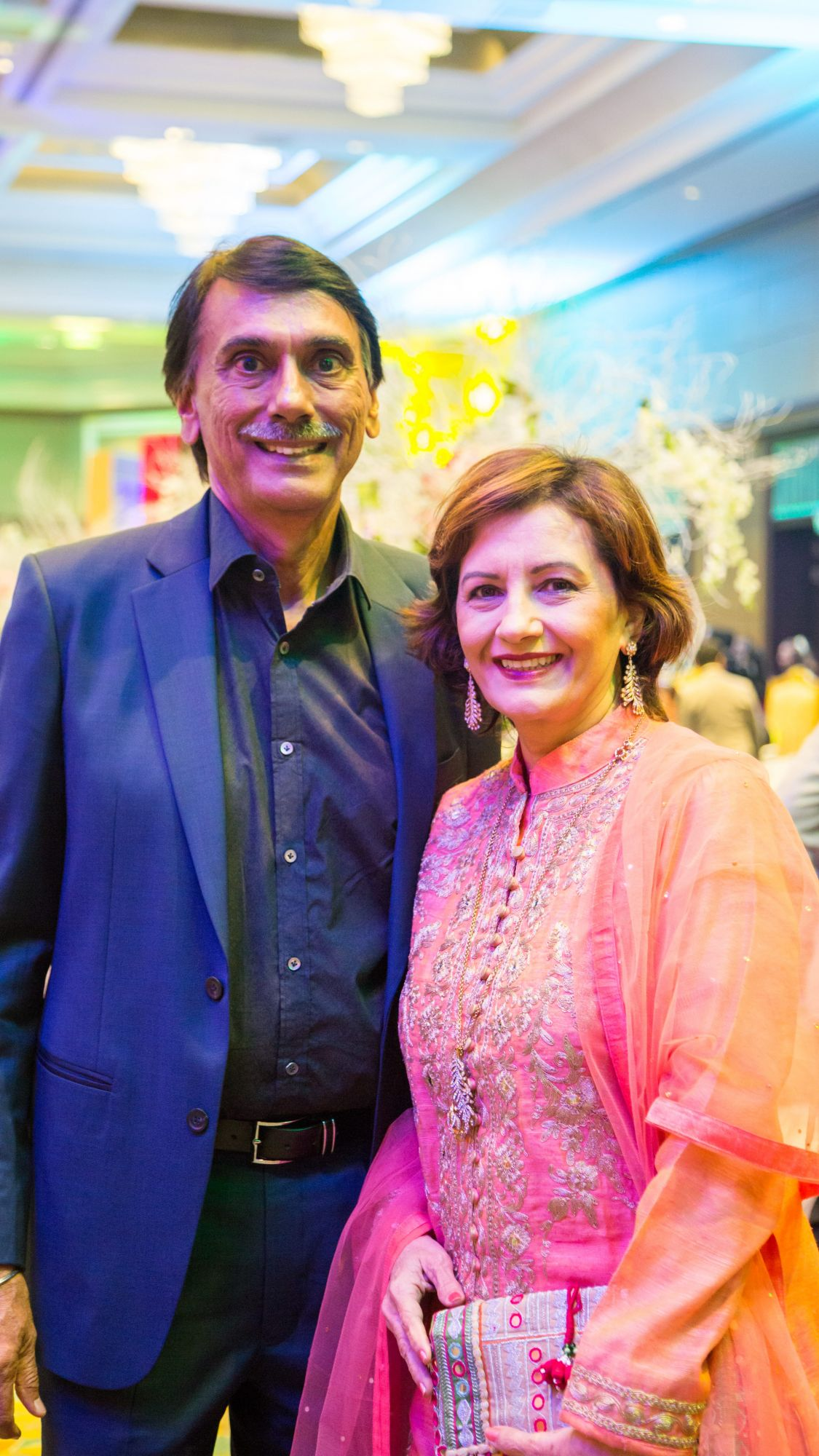 Balraj and Rani Gill