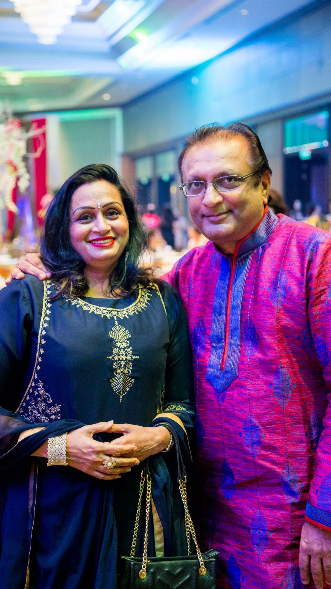 Saroj and Rajkumar Sheth