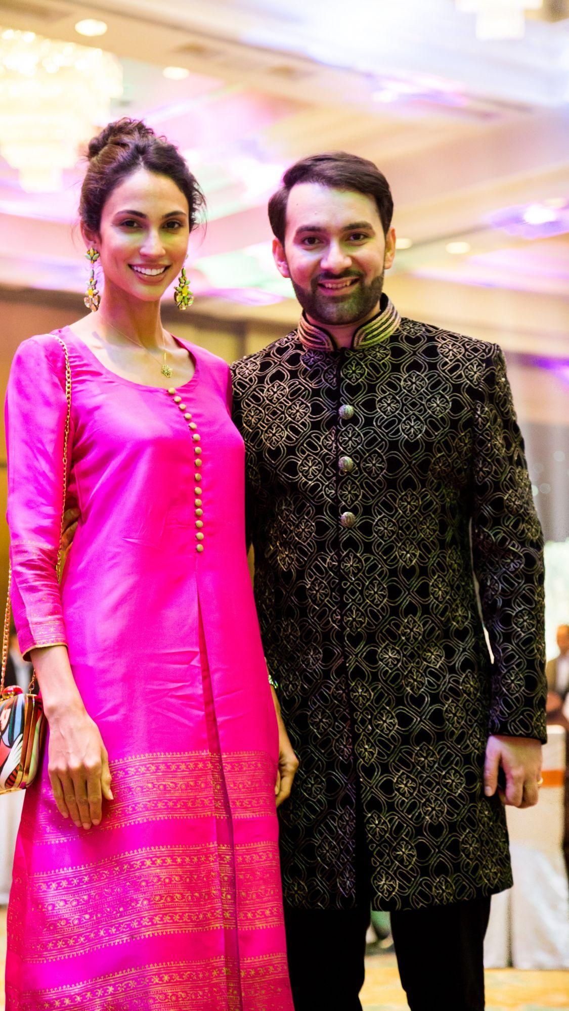 Deborah Henry and Dr Rajiv Bhanot