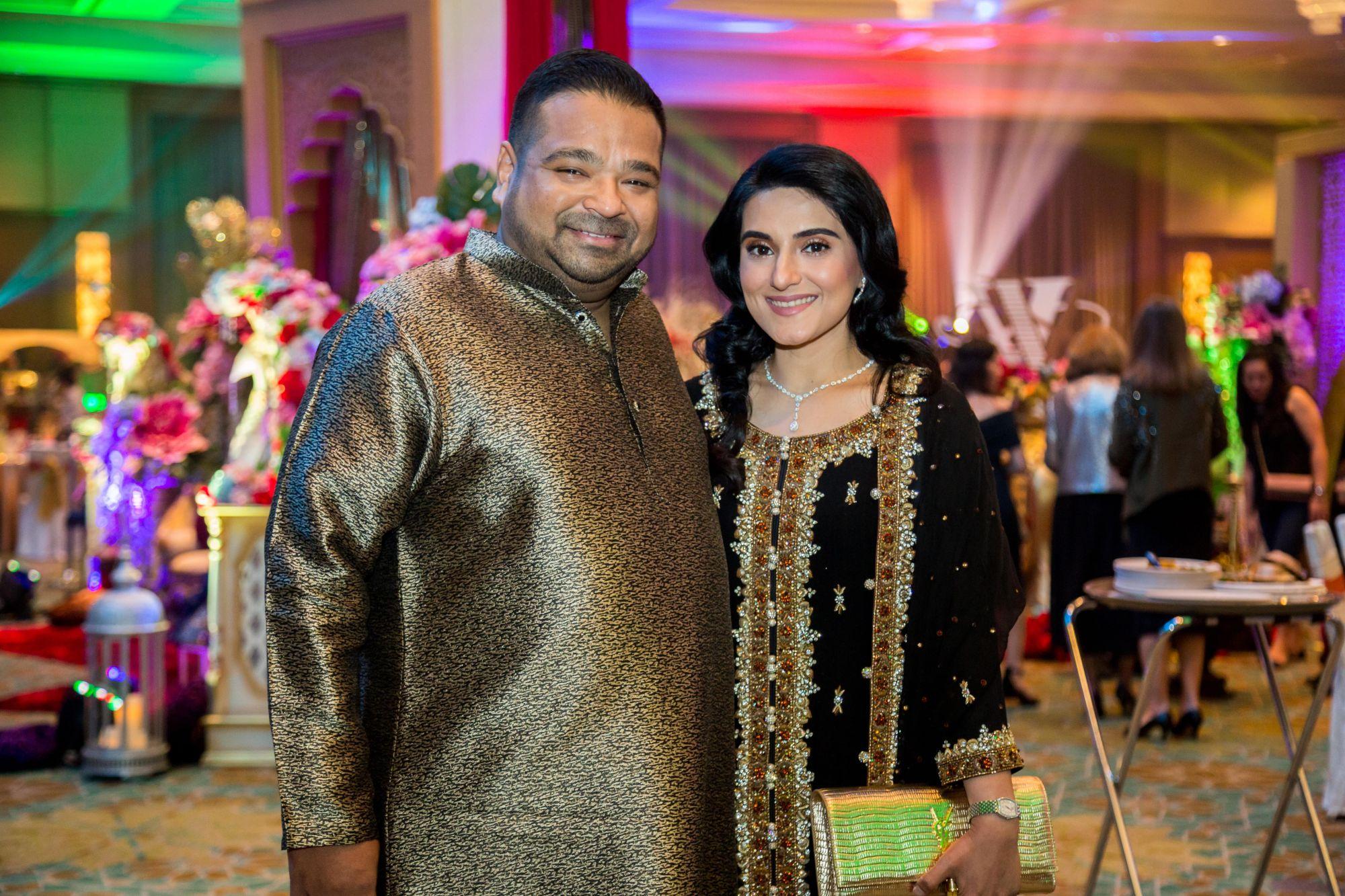 Datuk Shamrat Sen Gupta and Datin Safira Gupta