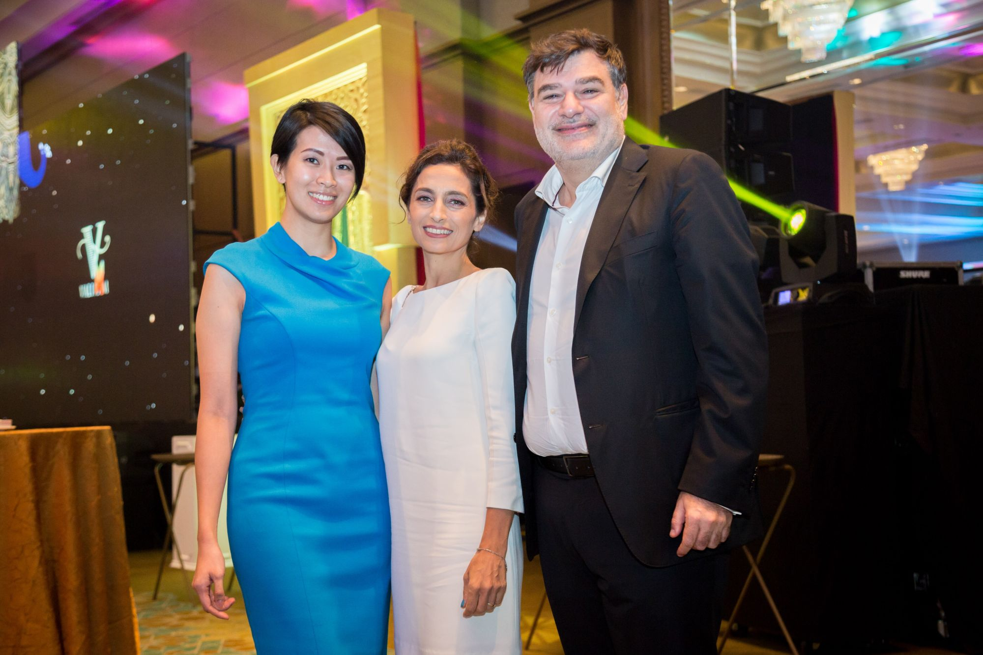 Dr Andrea Lim and Mida and Malek Bekdache