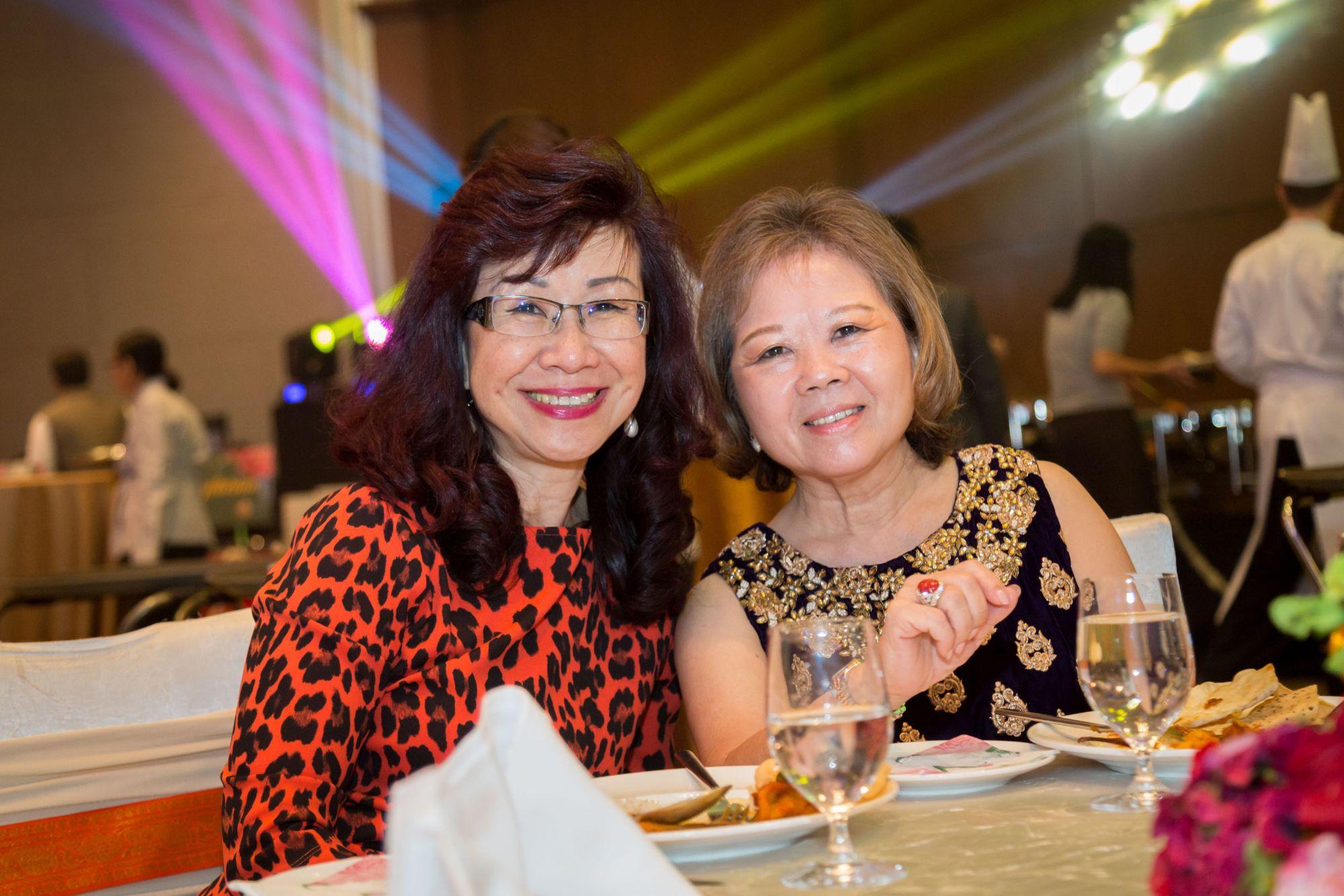 Florence Fang and Datin Sri Joyce Raymond