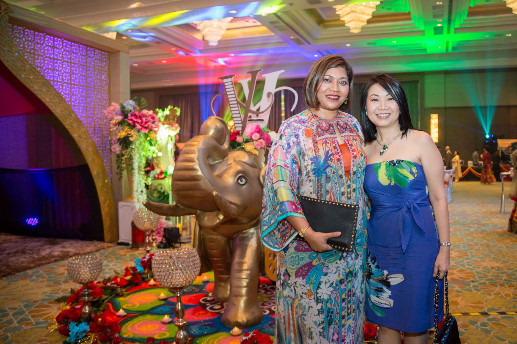 Ida Lokman and Lynette Lau