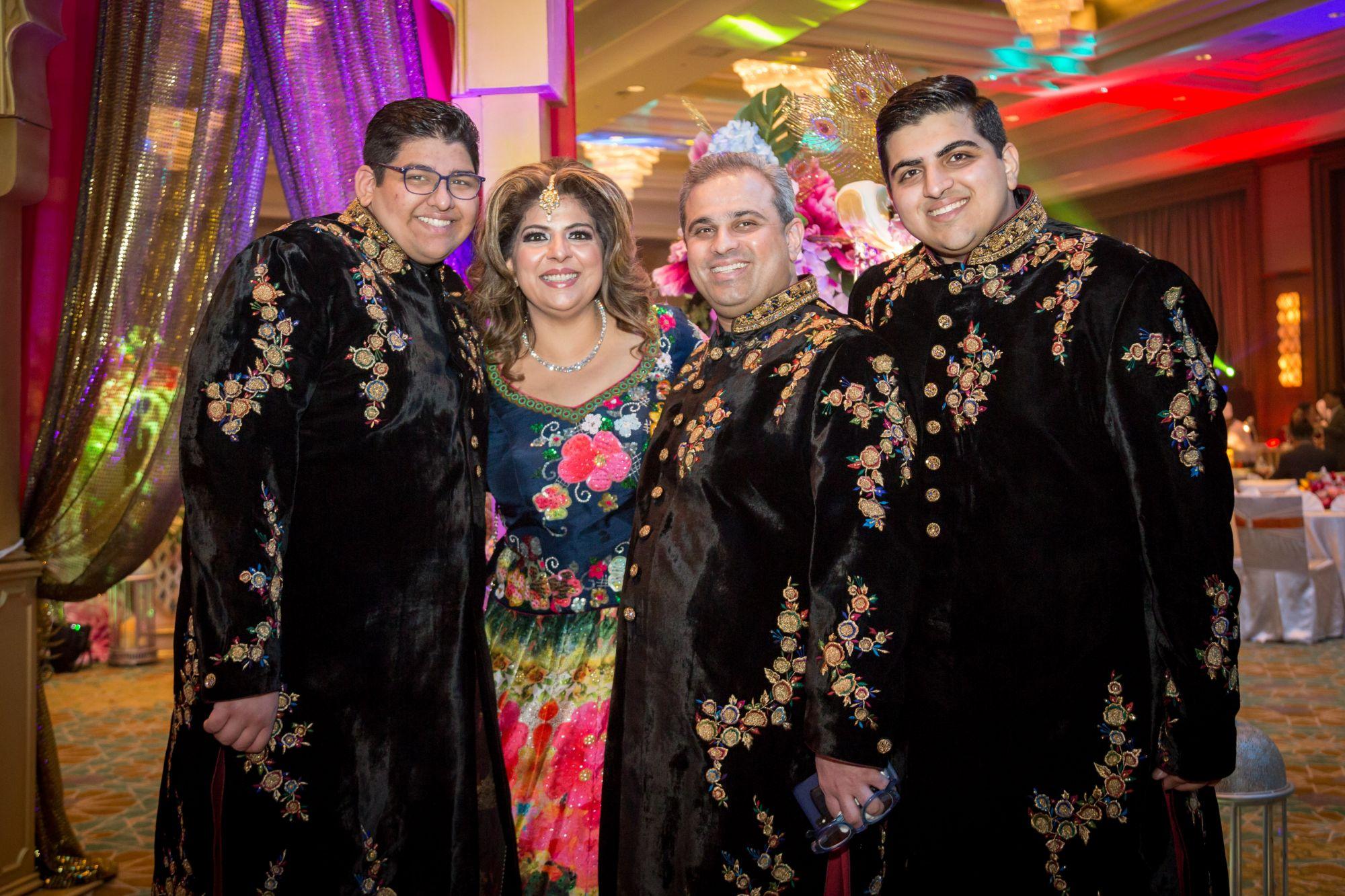 Neeraf, Lavina, Sharan and Devesh Valiram