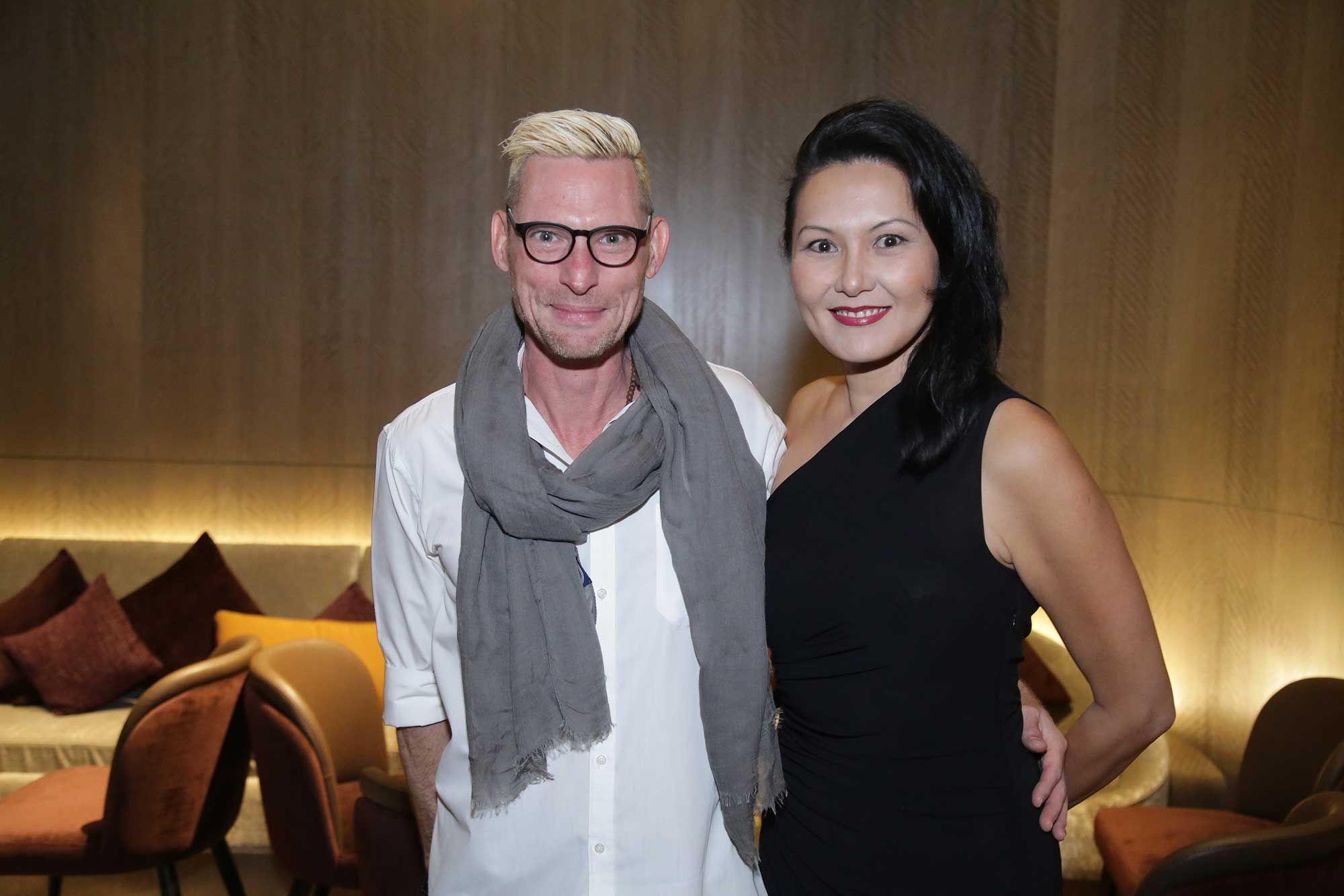 Emmanuel Stroobant and Edina Hong